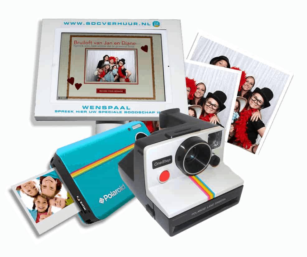 Polaroidhuren voor een blijvende herinnering!