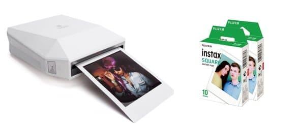 Polaroid Instax Square SQ10 huren Belgie, trouwfeest